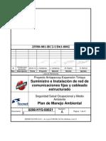 Plan de Manejo Ambiental Tecnet Antapaccay 8298 Hys 00021