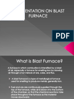 A Presentation on Blast Furnace