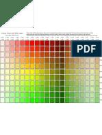 Hsl Colour Chart p1