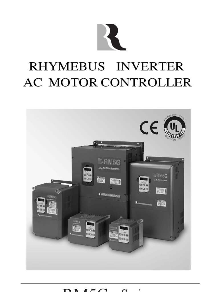 Rm5g Operation Manual English V1 6 Inversor De Potencia