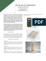 Materiales de Uso en El Laboratorio