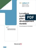 A Cultura o Quarto Pilar Da Sustentabilidade