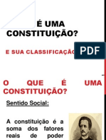 Constituição e classificação