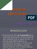 Posiciones Quirrgicas EXPOSICION SOP