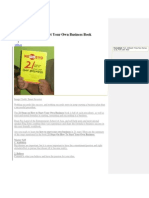 21 Steps on How to Start Your Own Business Book