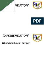 Differentiation October 2012