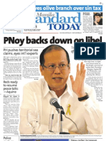 Manila Standard Today - Thursday (October 18, 2012) Issue