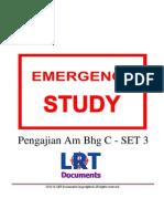[EMERGENCY STUDY] Pengajian Am Bhg C - SET 3
