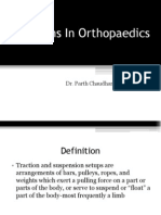 Tractions in Orthopaedics