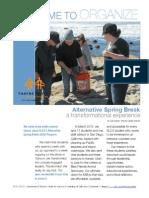 2011-2012 Annual Assessment | Thayne Center for Service & Learning