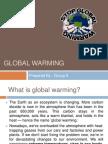 Biology Global Warming