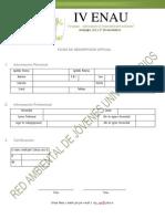 Ficha Inscripcion IV ENAU