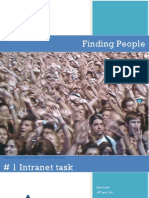 Find People #1 Intranet Task