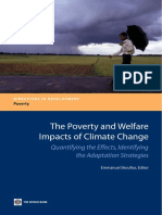 The Poverty and Welfare Impacts of Climate Change