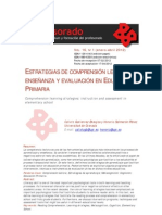 ESTRATEGIAS DE COMPRENSION LECTORA