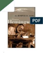 Al Romper El Alba - Ernest Hemingway