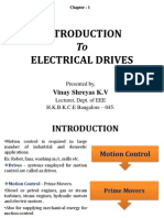 Introduction to Industrial Drives