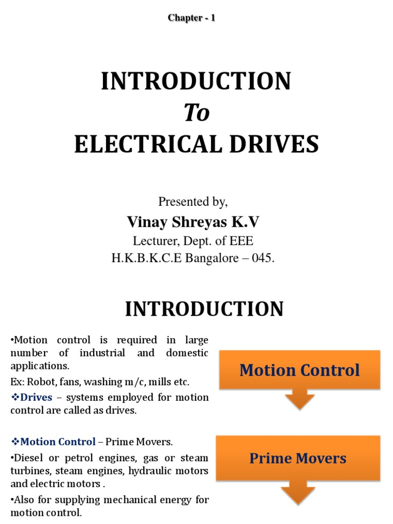 introduction to industrial drives power electronics transmission rh scribd com