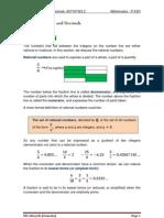 UNIT 1 (Act 2+Sol) Fractions and Decimals.