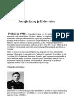 Jevrejin koga je Hitler voleo