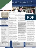Peek & Toland October 2012 Newsletter