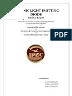 OLED Seminar Report
