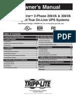 Tripp Lite SmartOnline SU20K3 3XR5