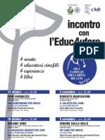 Locandina Incontro Con l EducAutore - ROVIGO 2012