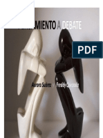 Pens Amien to a Debate 15 Oct