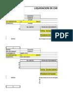 Control de Cheques y Facturas Liquidadas 2010