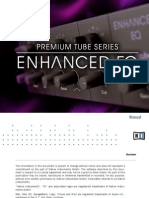 Premium Tube Series Enhanced EQ Manual English