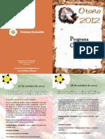 Programa completo otoño 2012