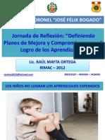 Jornada de Reflexion en La i.e. 2063 - 2012