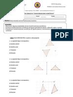 Evaluación transformaciones isométricas octavo a y b