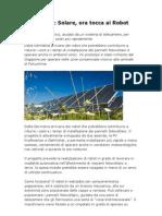 Energia Solare Rinnovabile