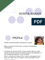 Sunita Narain Arun