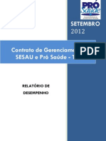 Pró-Saúde - SESAU-TO - PRESTAÇÃO DE CONTAS - Setembro - 2012