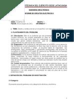 Informe de Circuito Con Rspuestas Transitorias.