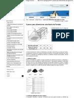 5 passos para dimensionar uma Gaiola de Faraday - Artigos técnicos - Publicações - Q Energia - Qualidade da Energia, Instalações Eléctricas e Eficiência Energética