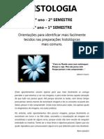 Apontamentos para as Práticas de Histologia - Mónica Santos