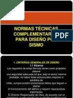 NTC DISEÑO POR SISMO