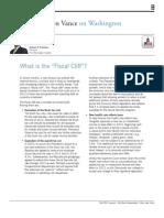 Fiscal Cliff EV Sept 12