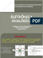 Eletrônica Analógica - Aula 1 - Conceitos tensão corrente e potêcia
