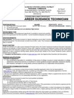 College and Career Guidance Technician