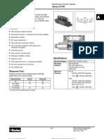 Parker D1VW Directional Control Valves
