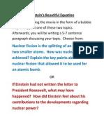 Einstein's Beautiful Equation.docx