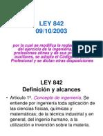 LEY 842
