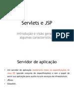 Servlets e JSP