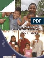 Plan Nacional Perú contra la Indocumentación 2011-2015. Anexos del Plan.
