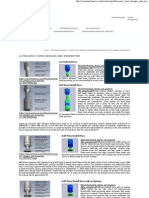 Ultrasonic Horn Designs and Properties
